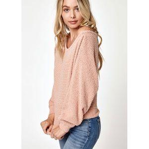 51d2df79612 PacSun Sweaters - Pacsun LA Hearts Fuzzy Dolman Pullover Sweater
